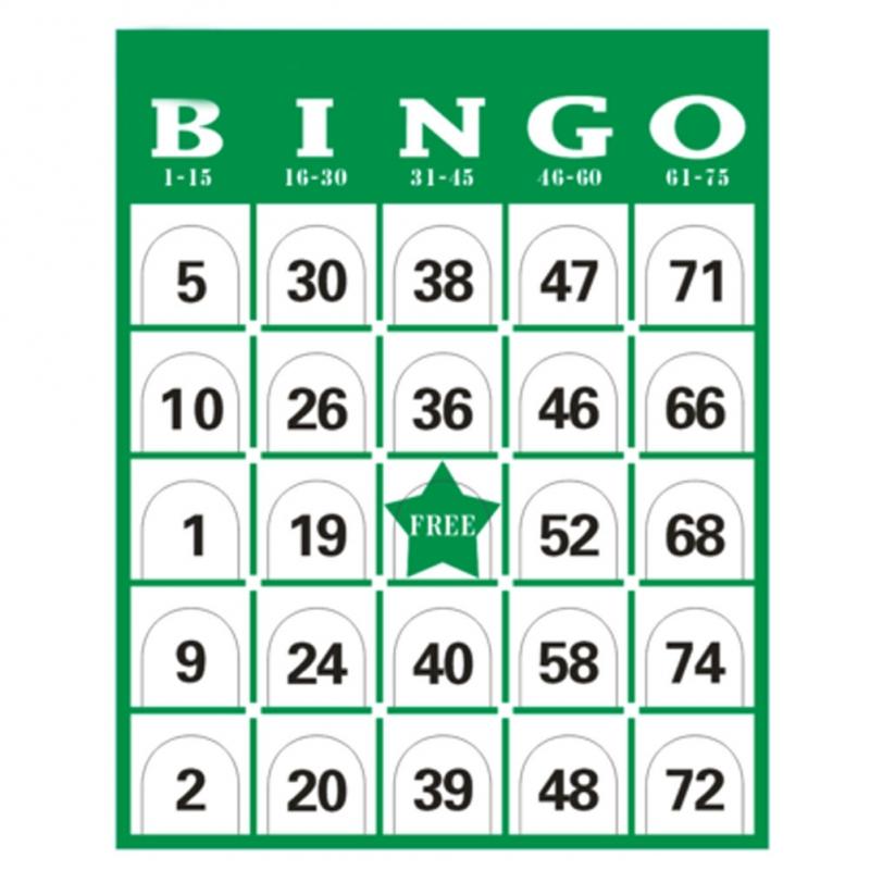 Trò chơi: Bingo (Lô tô) - Trò chơi tiếng Anh vui nhộn