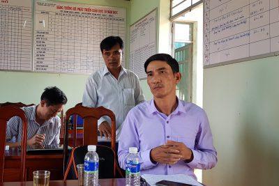 Phòng GD&ĐT thị xã Buôn Hồ tổ chức phúc tra thi đua các trường tiểu học năm học 2018-2019