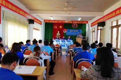 Hội nghị tổng kết công tác Đoàn và phong trào thanh thiếu nhi năm 2017, triển khai phương hướng nhiệm vụ năm 2018