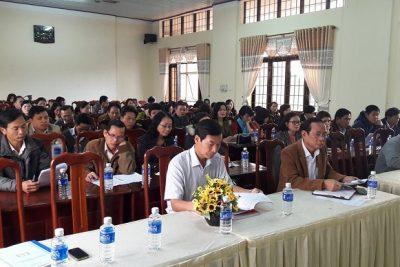 Hội nghị sơ kết hoạt động Giáo dục đào tạo học kỳ I, triển khai phương hướng, nhiệm vụ học kỳ II năm học 2017-2018