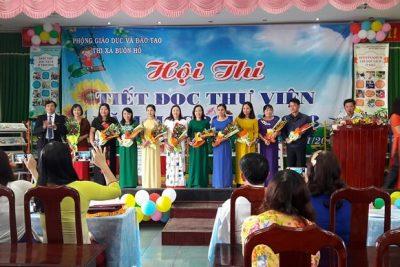 Phòng Giáo dục và Đào tạo thị xã Buôn Hồ tổ chức Hội thi Tiết đọc thư viện năm học 2017-2018.